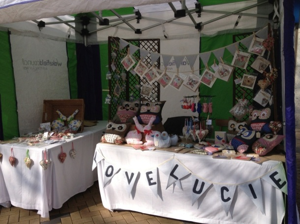 Craft Fair number 4. Wakefield town centre