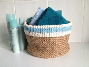 Crochet Basket No3