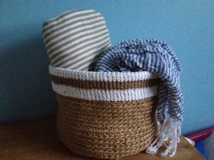 Crochet basket No.2