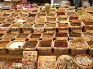 Spices at Kalkan Market.