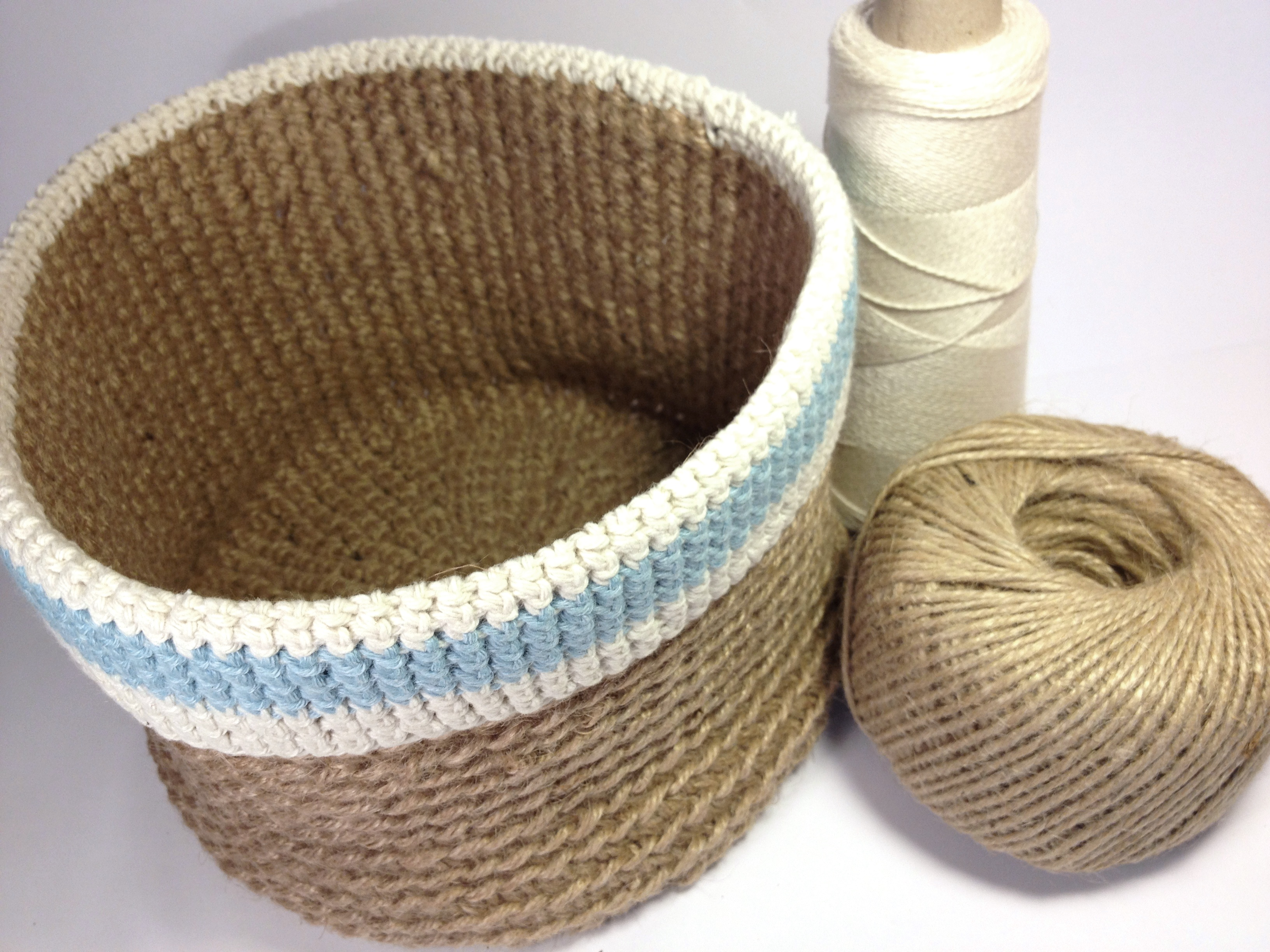 Crocheting Baskets : Crochet baskets now on Folksy! Love, Lucie