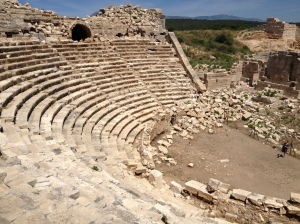 Ampitheatre at Patara