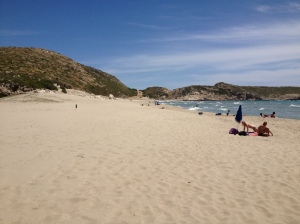 Beach at Patara - completely undeveloped due to the presence of nesting turtles