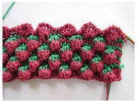 Amazing raspberry stitch