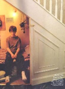 Harry Potter in the cupboard under the stairs