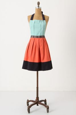 Couture apron from anthropology