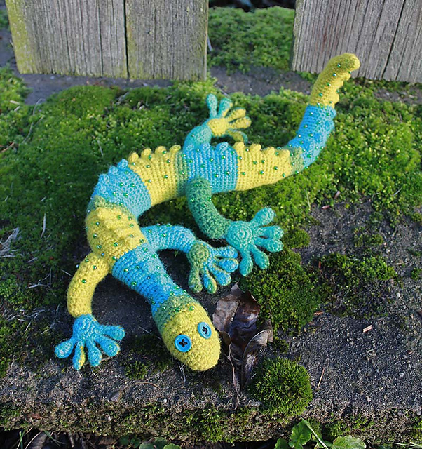 Amigurumi Gecko Pattern : 301 Moved Permanently