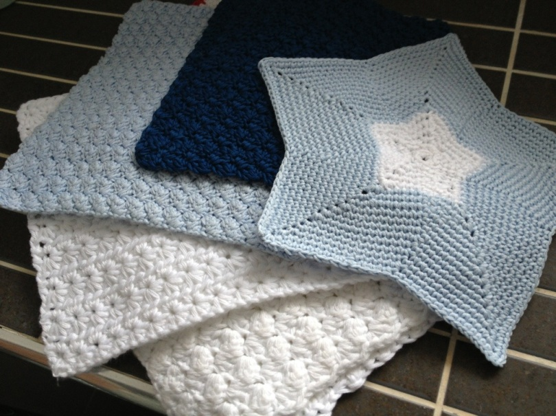 New crochet face cloths