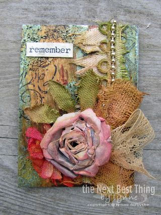 Beautiful applique atc