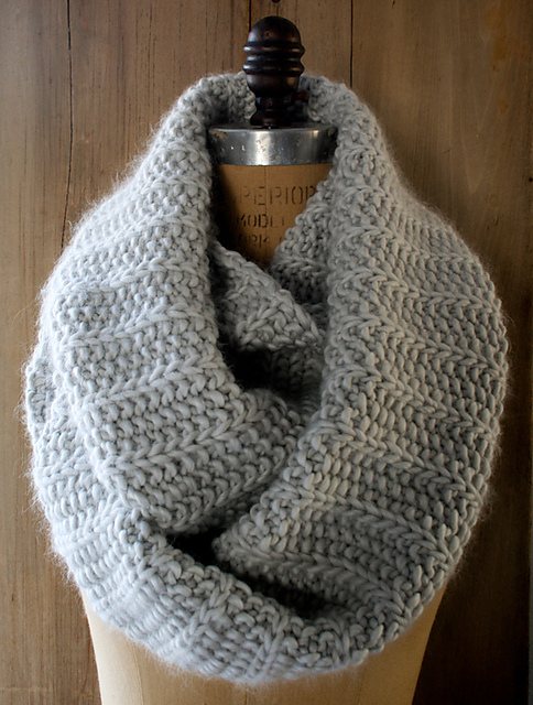 Fluted cowl by Purl Soho
