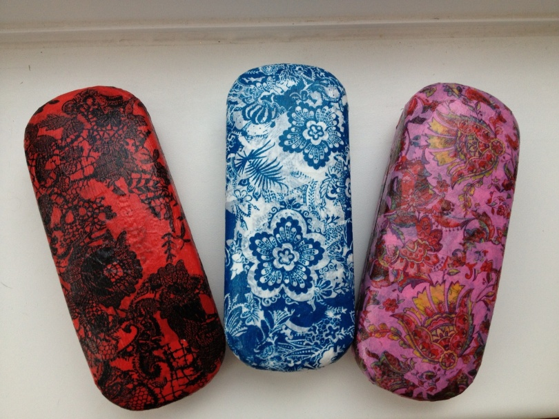 Decopatch glasses cases