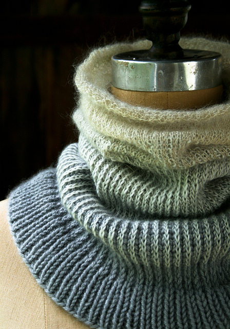 Ombre Cowl Pattern by Purl Soho