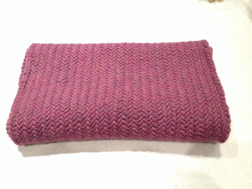 Big Herringbone Stitch Purl Soho Cowl