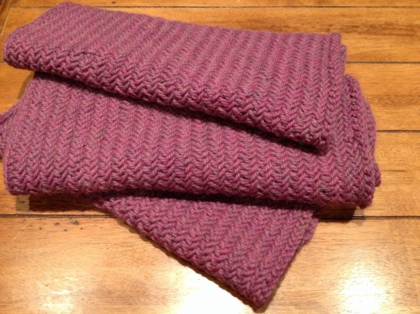 Big Herringbone Stitch Cowl