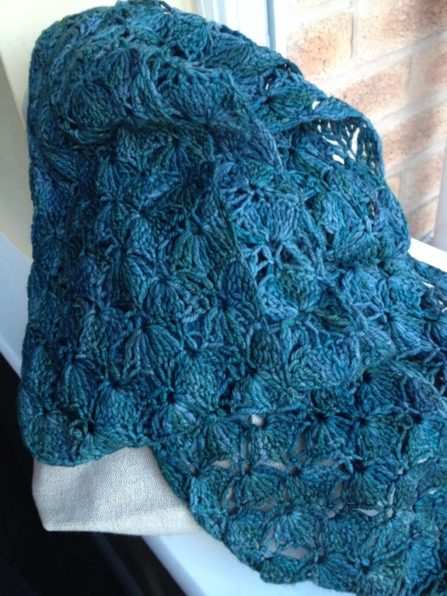 Lace crochet scarf complete! | Love, Lucie