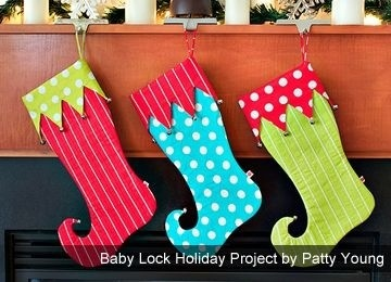 Elf Stocking By Patty Young
