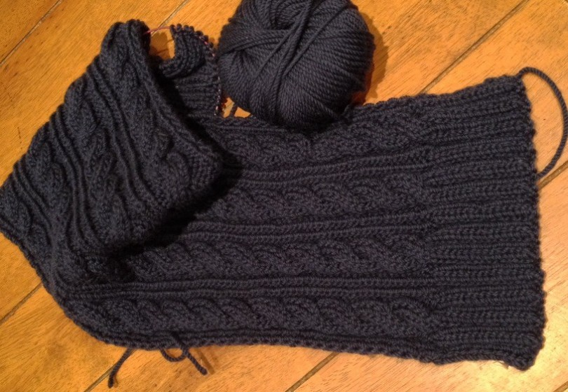 Merino Cable Scarf