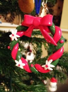 Fimo wreath