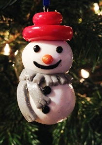 My daughter's fimo snowman