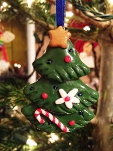 Fimo Christmas tree