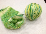 New yarn for the sockKAL