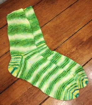 First pair of Socks!