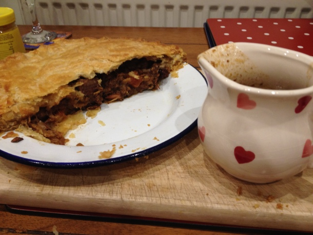 Homemade Beef and Guiness pies