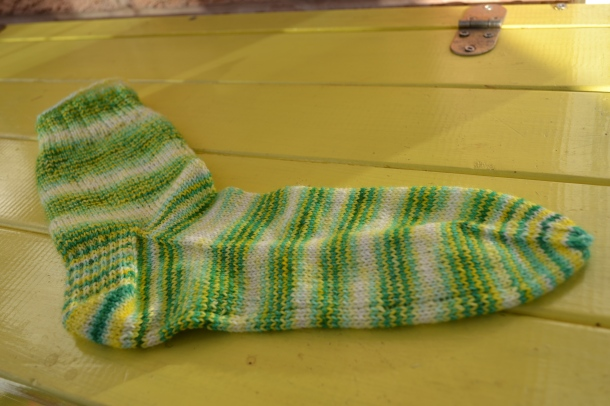 Completed basic sock!