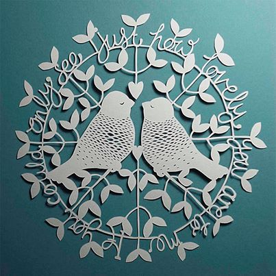 House of Alphonse papercut