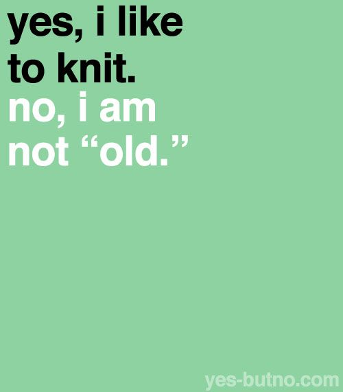 Knitting humour