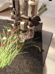 Machine embroidery procrastination