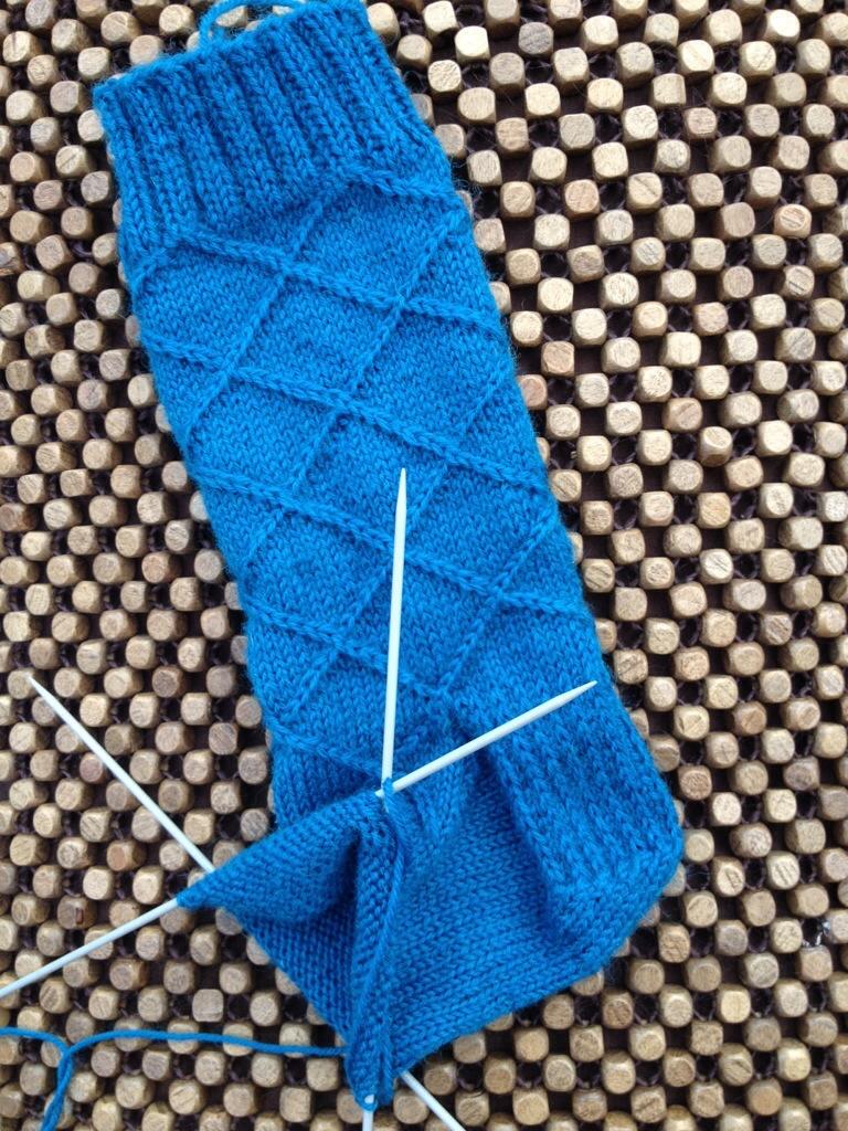 Tanis fiber arts Business Casual Socks in Yorkshire Spinners Sock Yarn