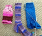 To knit or not to knit socks.