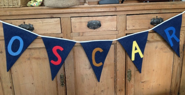 Bunting for boys