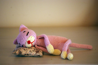 Amineko Crocheted Cat