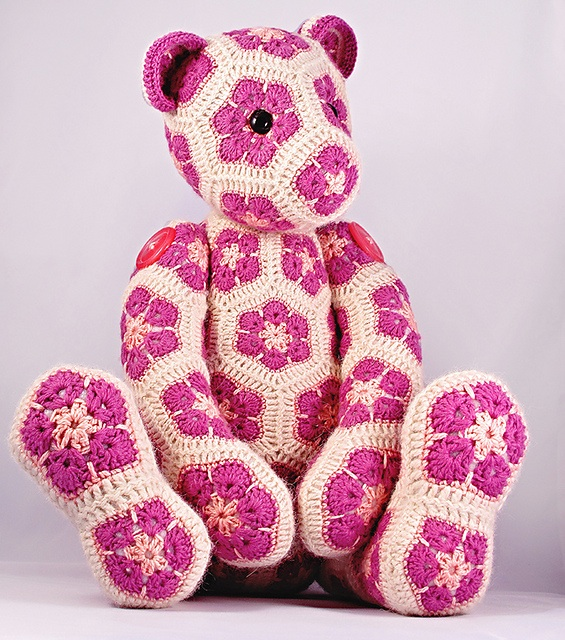 Heidi Bears African Flower bear