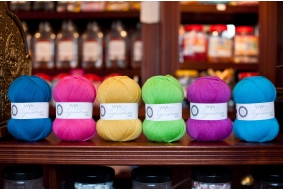 West Yorkshier Spinners 4 ply in Sweet Shop Shades