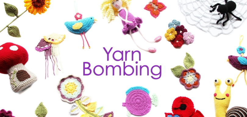 Yarn Bombing Banner