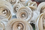 Wiring paper roses