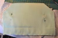 Lining sewn