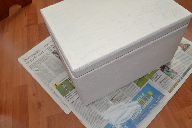 Decopatch wedding keepsake box