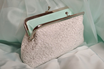 Bridesmaid clutch bag