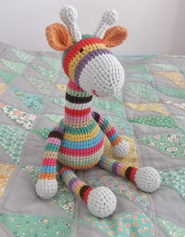 Emma's Crochet Giraffe Pattern