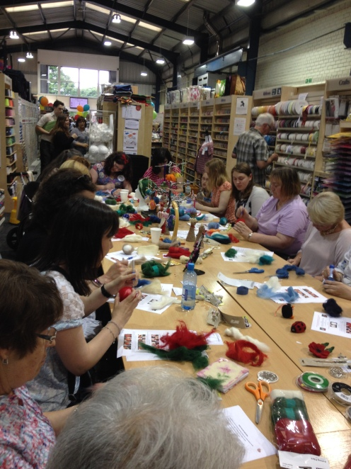 Felting workshop