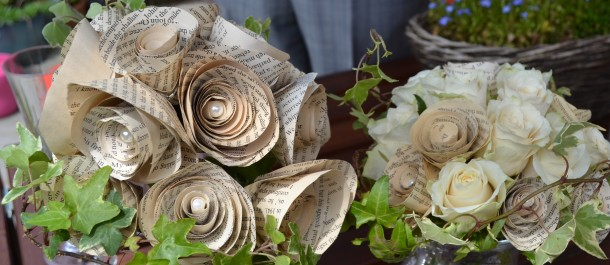 Handmade wedding bouquets