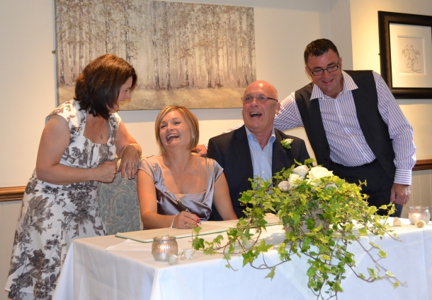 Can't remember what we were laughing at!