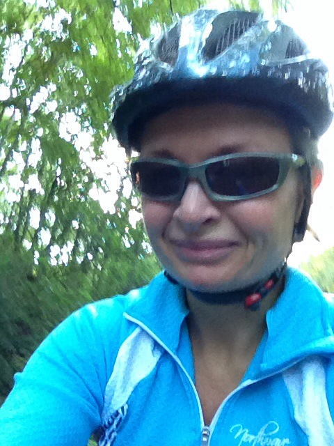 Cycling around Newmillerdam