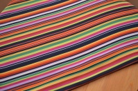 Stripy sating at £4/m!