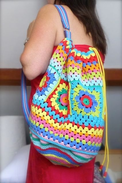 Sewchet crochet bag