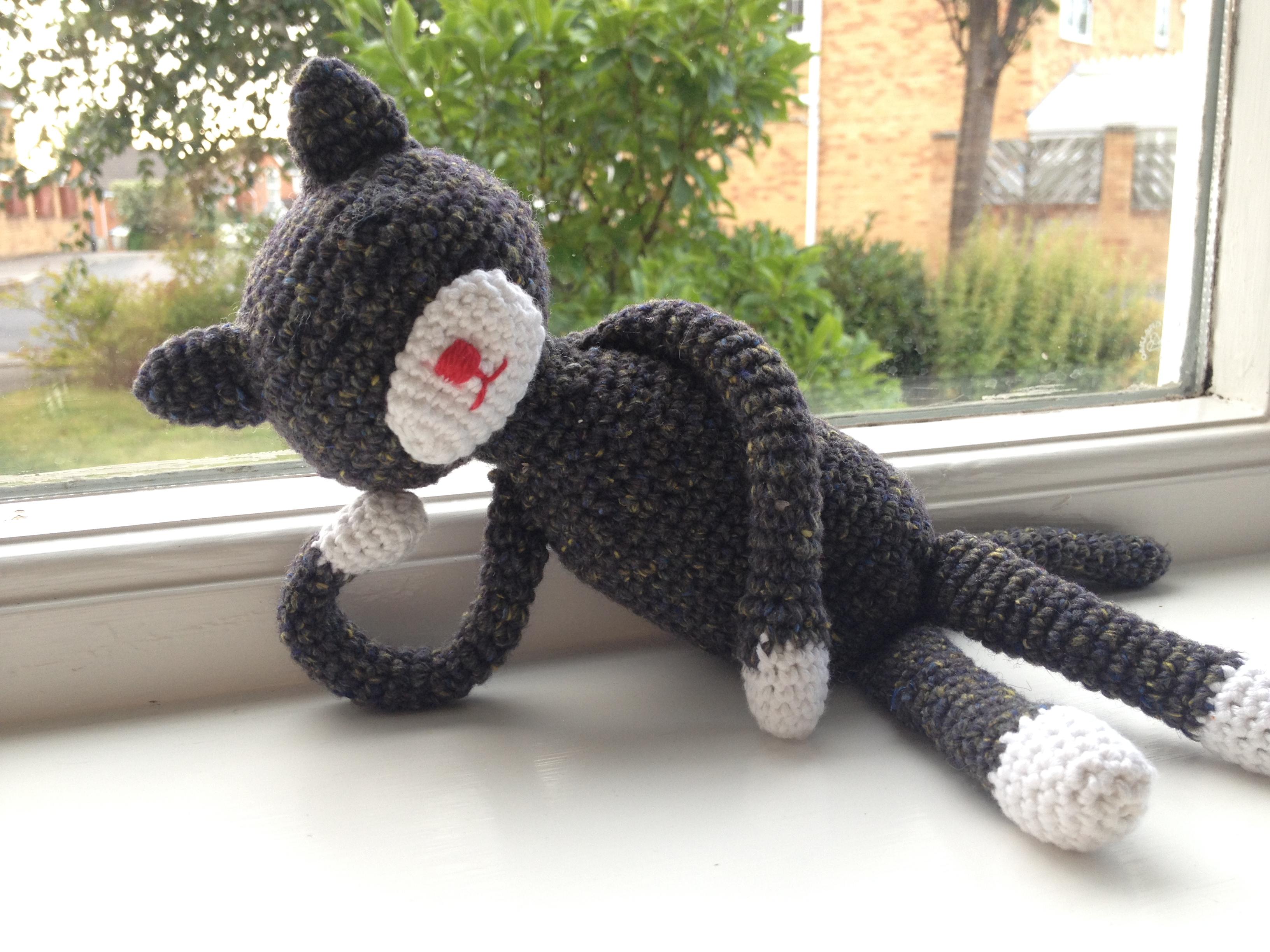 Super Cute Amigurumi Amineko crochet cat handma... - Folksy | 2448x3264